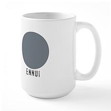 ENNUI large mug