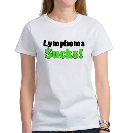 Lymphoma Sucks Women's T-Shirt