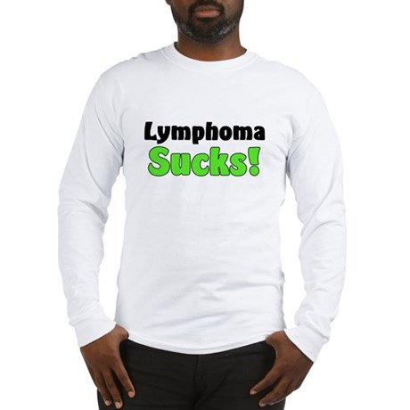 Lymphoma Sucks Long Sleeve T-Shirt
