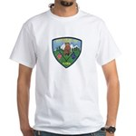 Mountain Village Police White T-Shirt