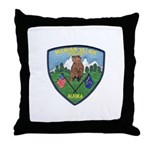 Mountain Village Police Throw Pillow