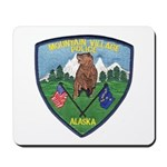 Mountain Village Police Mousepad