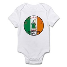 Newton, St. Patrick's Day Infant Bodysuit