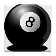 8 Ball! Tile Coaster