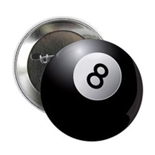 "8 Ball! 2.25"" Button (100 pack)"