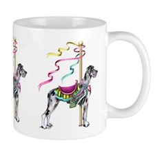 Great Dane Merle UC Carousel Mug