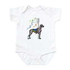 Great Dane Black UC Carousel Infant Bodysuit