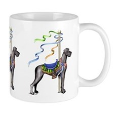 Great Dane Black UC Carousel Mug