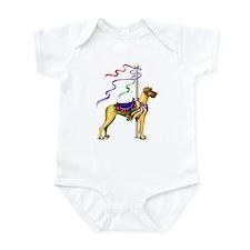 Great Dane Fawn UC Carousel Infant Bodysuit