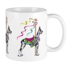 Great Dane Merle Carousel Mug