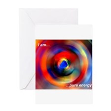 Pure Energy Greeting Card