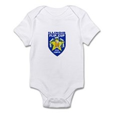 Illinois Flip Cup State Champ Infant Bodysuit