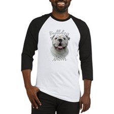 Bulldog Mom2 Baseball Jersey