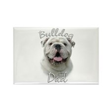 Bulldog Dad2 Rectangle Magnet