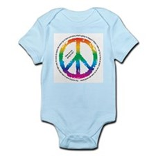 Peace Signs Infant Bodysuit