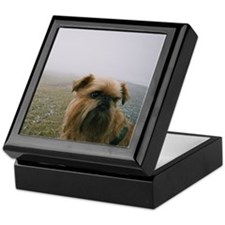Whimsical Brussels Griffon Keepsake Box