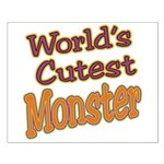 Cutest Monster Costume Small Poster