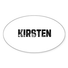 Kirsten Oval Decal