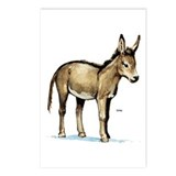 Donkey Postcards (Package of 8)
