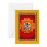 Blue Medicine Buddha Greeting Cards (Pk of 10)