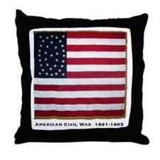 National color (Philadelphia) Throw Pillow