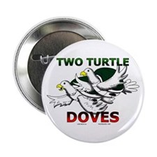 Two Turtle Doves Button