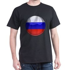 Russia Flag Jewel T-Shirt