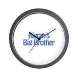 Kieran's Big Brother Wall Clock