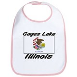 Gages Lake Illinois Bib