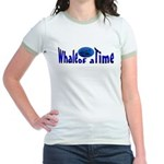 Whale of a Time Jr. Ringer T-shirt