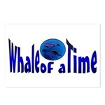 Whale of a Time Postcards (Package of 8)