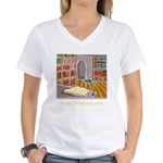This Lamp (logo) Women's V-Neck T-Shirt