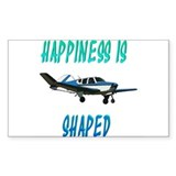 Happiness is a Bonanza! Rectangle Stickers