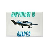 Happiness is a Bonanza! Rectangle Magnet (10 pack)