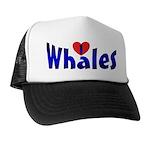 Whales Trucker Hat