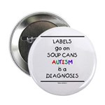 Autism ~ Labels go on soup cans 2.25