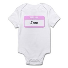My Name is Jane Infant Bodysuit