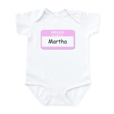 My Name is Martha Infant Bodysuit