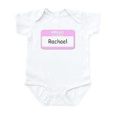My Name is Rachael Infant Bodysuit