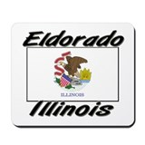 Eldorado Illinois Mousepad