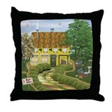 Leabhar (Bookshop) Throw Pillow