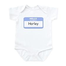 My Name is Harley Infant Bodysuit