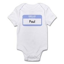My Name is Paul Infant Bodysuit