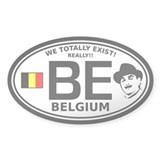 Belgium Infiltration Decal