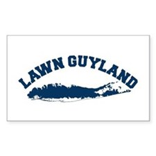 LAWN GUYLAND Rectangle Decal