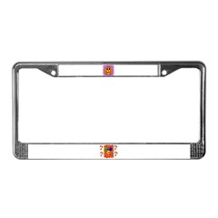 TRICK OR TREAT HALLOWEEN License Plate Frame