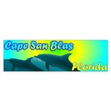 Cape San Blas Florida Bumper Bumper Sticker