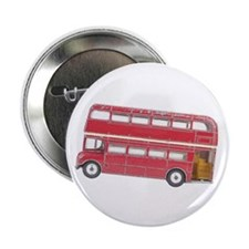 "Anglophile Vintage Bus 2.25"" Button (10 pack)"