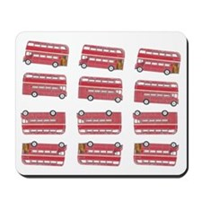 Anglophile Vintage Bus Mousepad