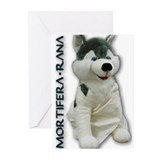 Mortifera Rana Greeting Cards (Pk of 10)